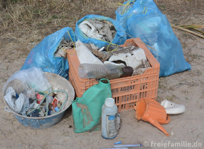 Wir sammeln Müll!