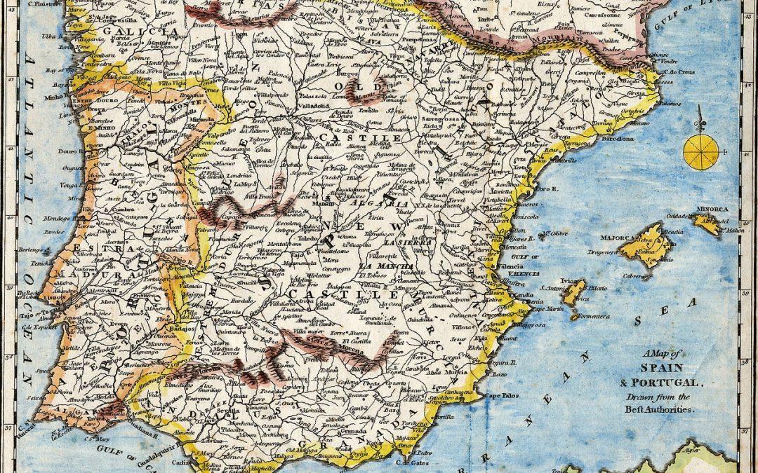 Reiseroute Januar-März 2016, Spanien-Ostküste